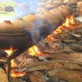 Luôn giữ cho lửa cháy to và đều