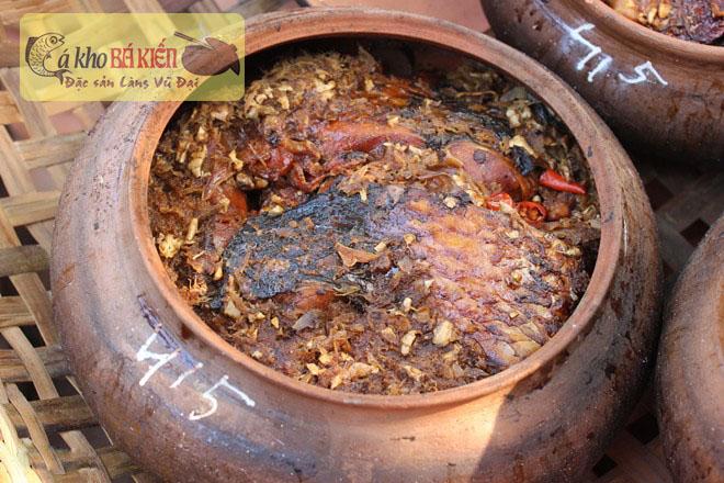 Công ty Danavisa cung cấp đặc sản cá kho làng Vũ Đại