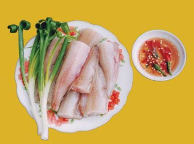 Cháo cá Khoai miệt biển rất ngon