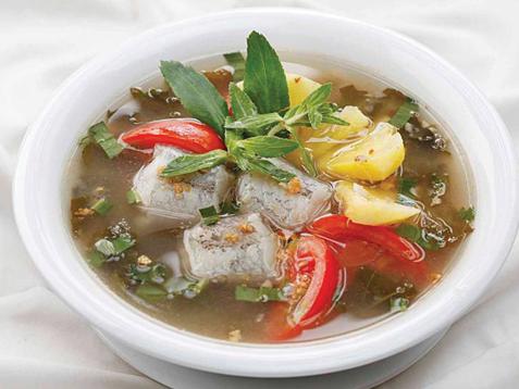 Món canh chua cá Khoai ngon tuyệt vời