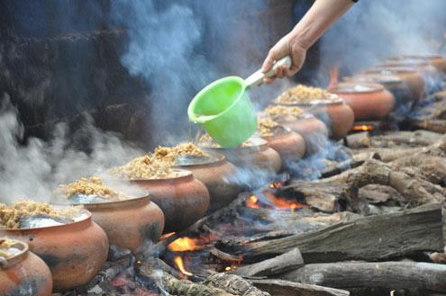 Món cá kho làng Vũ Đại