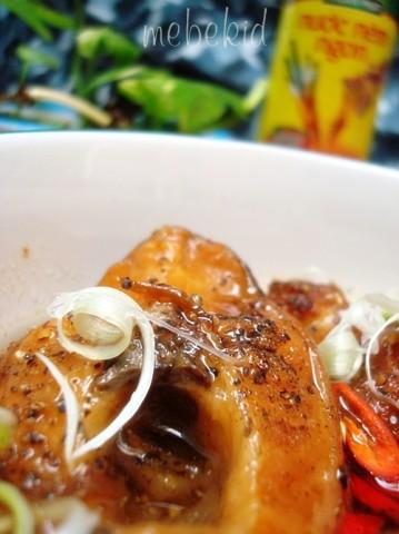 Món cá lóc kho tiêu thơm ngon hấp dẫn