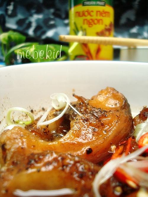 Món cá lóc kho tiêu luôn hấp dẫn và rất đưa cơm