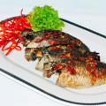 Cá rô nướng hành rau răm thơm ngon hấp dẫn