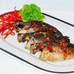 Cách làm món cá rô nướng hành, rau răm