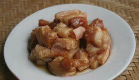 Thịt ba rọi ướp gia vị