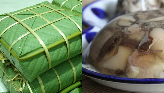 Bánh chưng-luôn có trong mâm cỗ ngày tết trên đất Việt