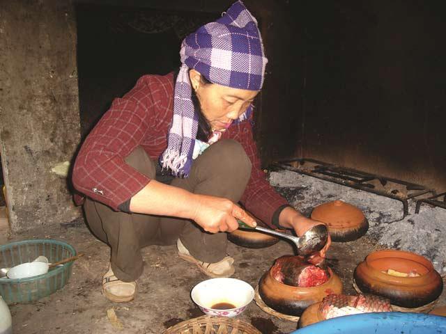 Cá kho làng vũ đại Hà Nam