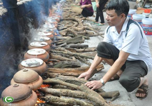 Kho cá đã trở thành một nghề truyền thống của người dần Đại Hoàng