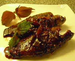 Cá rô kho thịt ba rọi