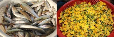 Những món ngon từ cá linh