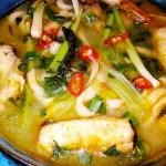 Món cá nấu dọc mùng ngon mát ngày hè