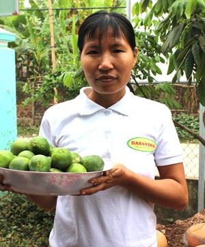 Chị Trần Thị Mây (34 tuổi)