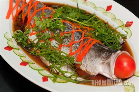 Cá chẽm hấp thơm ngon bổ dưỡng