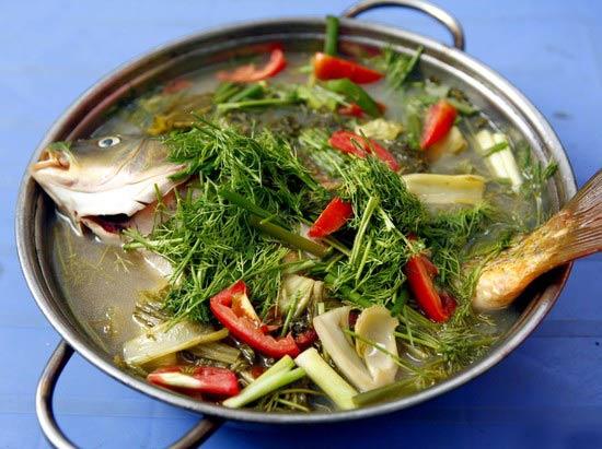 Cách nấu món cá chép om dưa
