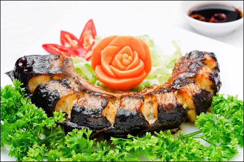 Cá chình biển nướng ngon tuyệt