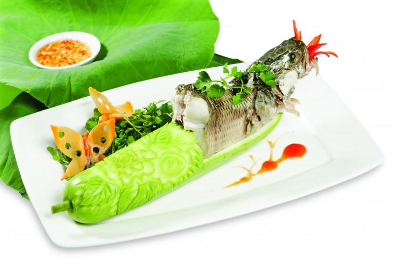 Cá hấp sả thơm ngon và bổ dưỡng