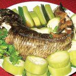 Cách làm món cá lóc hấp cuốn bánh tráng ngon nhất