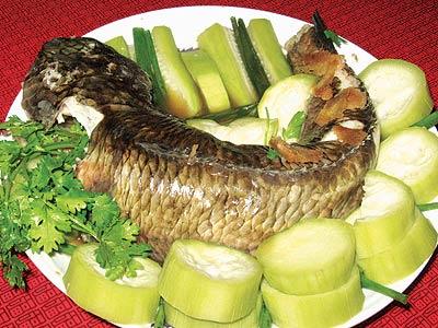 Cá lóc hấp chế biến đơn giản mà lại thơm ngon và hấp dẫn