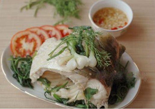 Cá mè luộc thơm ngon và hấp dẫn