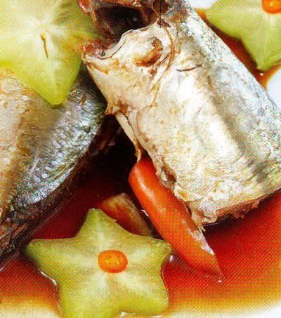 Cá nục kho khế chua cực ngon