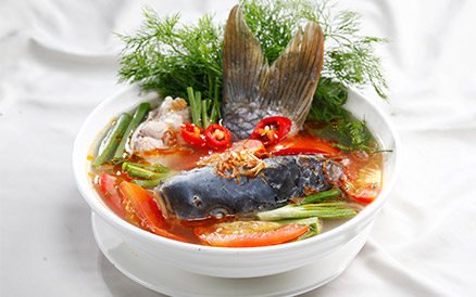 Canh chua cá chép cực kỳ thơm ngon và hấp dẫn