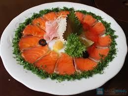 Gỏi cá hồi - món ăn ngon chế biến cực đơn giản