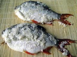 Cá tươi khi ướp muối sẽ bảo quản được lâu hơn
