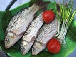 Nguyên liệu làm món cá chép kho nghệ đơn giản