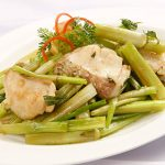Tuyệt chiêu làm món cá lóc xào rau cần ngon tuyệt