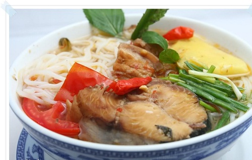 Image result for cách nấu bún cá ngừ