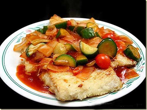 Cá hồi sốt chua ngọt thơm ngon và hấp dẫn vô cùng