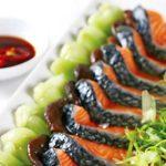 Công thức làm món cá hồi xào cải thìa thơm ngon đúng điệu