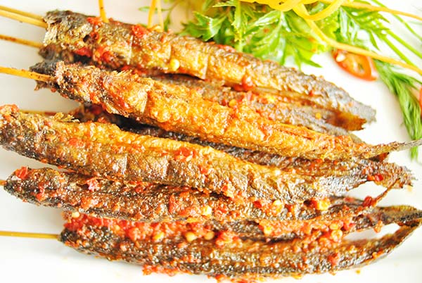 Cá kèo nướng muối ớt cực ngon