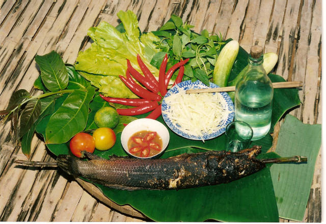 Cá lóc nướng trui - món ăn dân dã cực ngoncủa người Nam Bộ