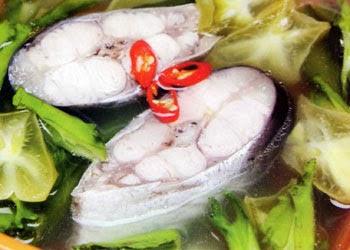 Canh cá bông lau nấu đậu rồng ngon tuyệt