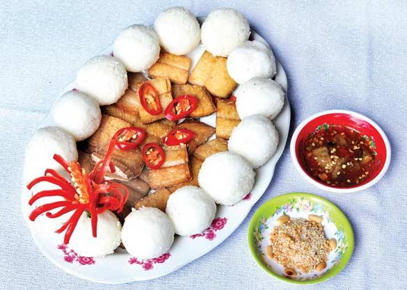 Cơm vắt khô cá dứa là món ăn chế biến cự kỳ đơn giản và ngon miệng