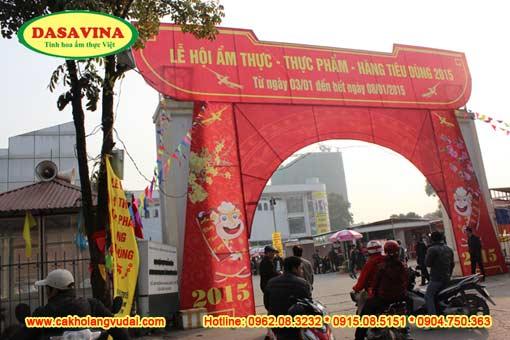 Hội chợ ẩm thực - thực phẩm - hàng tiêu dùng 2015 tại số 2 Hoàng Quốc Việt từ ngày 3/1 đến 8/1/2015