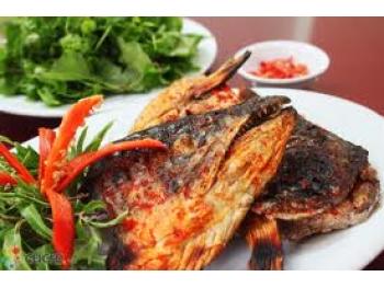 Đầu cá hồi chiên nước mắm thơm ngon, đậm đà cả nhà ngon cơm