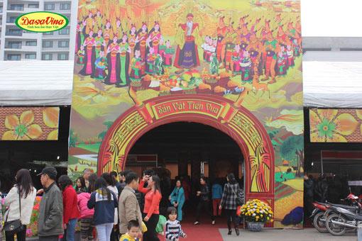 Cá kho làng Vũ Đại cơ sở Dasavina được ở khu vực trang trọng nhất khu Sản Vật Tiến Vua