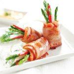 Hướng dẫn làm món cá hồi cuộn măng tây cực ngon