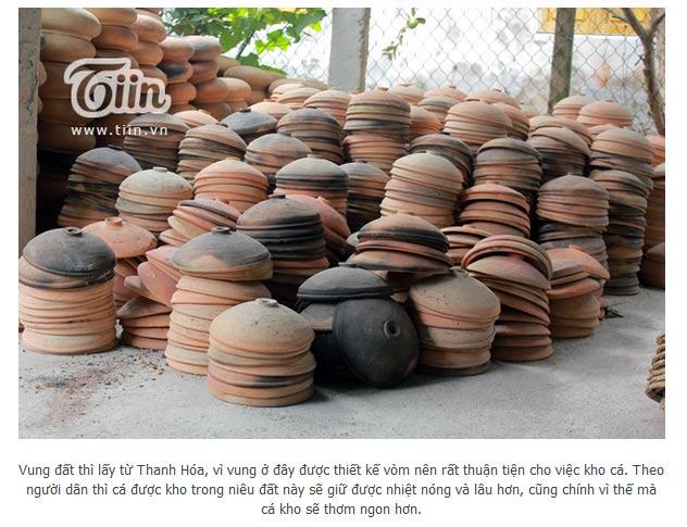 Niêu đất phải được làm tại Nghệ An và Thanh Hóa mới đạt chất lượng