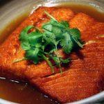 Tuyệt chiêu làm món lườn cá hồi kho nước dừa ngon ngây ngất