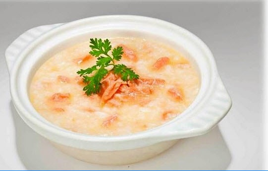 súp cá hồi