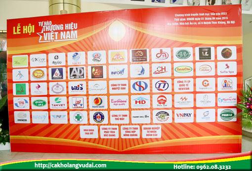 Các thương hiệu Việt Nam được vinh danh năm 2015