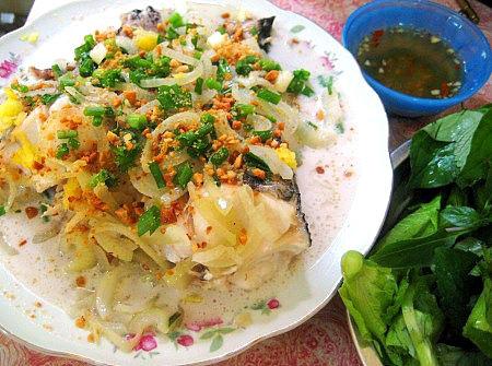 Cá lóc hấp nước cốt dừa hương vị thơm ngon đượm vị
