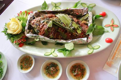 Cá nướng kiểu Thái độc đáo và ngon miệng