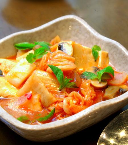 Kim chi cá ngừ lạ miệng và đưa cơm