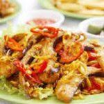 Thay đổi khẩu vị với món cá đuối xào sả nghệ cực ngon