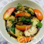 Cùng vào bếp học làm cá thu kho cải chua